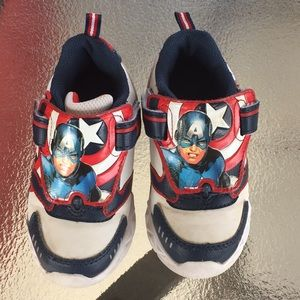 Other - Captain America avengers sneakers 8